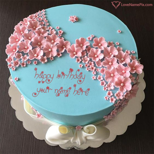 Brilliant Write Name On Stylish Birthday Cake Editing Online Picture With Birthday Cards Printable Riciscafe Filternl