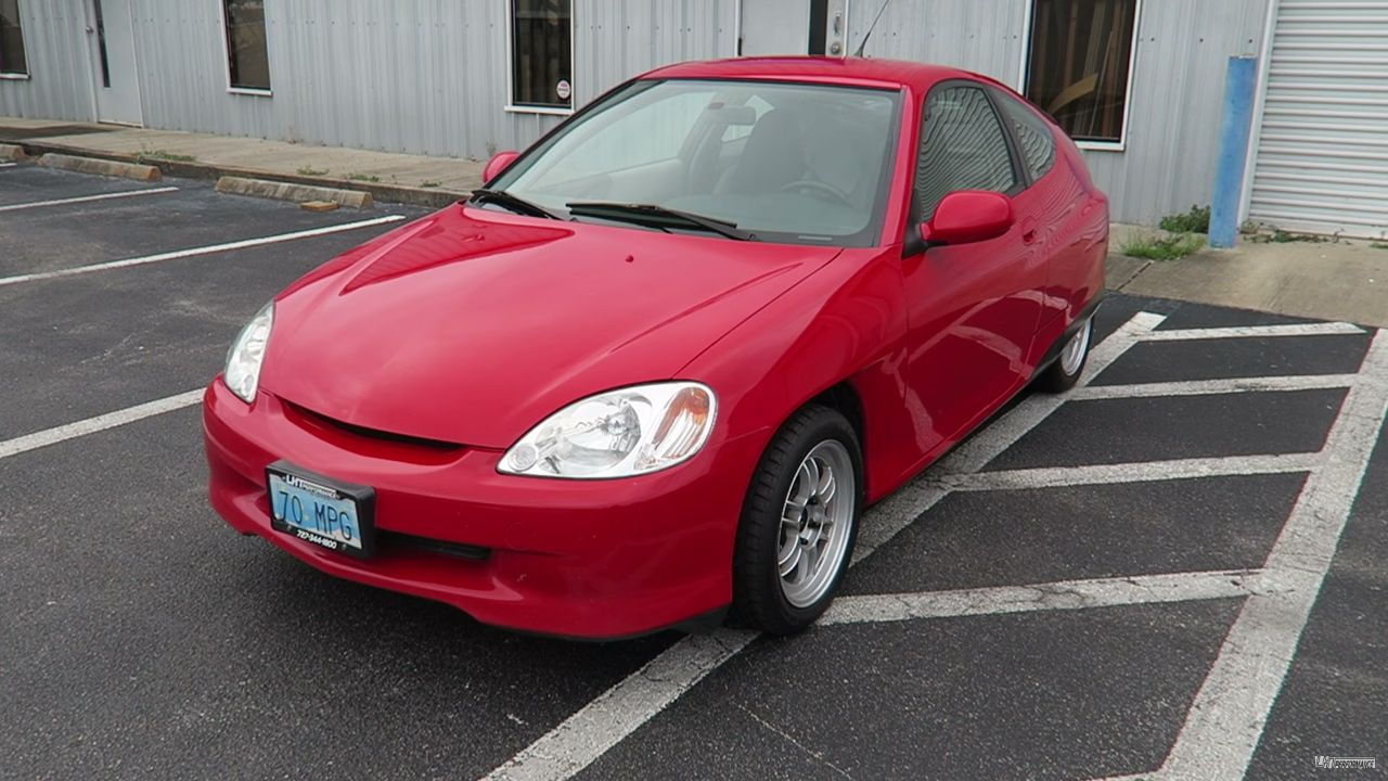 Honda Insight With A 2 0 L K20 Inline Four