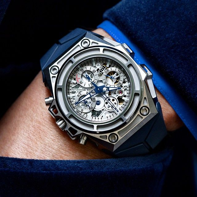New release from my friends at @LindeWerdelin! A new SpidoSpeed Chronograph in Titanium Grade 5. It represents an evolution of the iconic monochromatic LW look  Price will be $19,200!