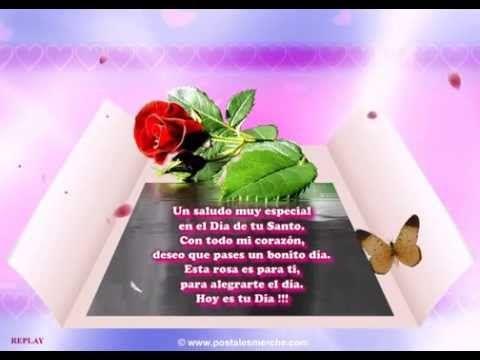 Video Felicita El Día Del Santo De Tus Amigas Y Conocidas