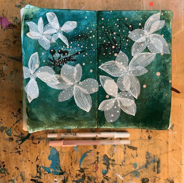 Diving Deep in Your Art Journaling Practice