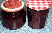 Vanille - Erdbeer - Marmelade