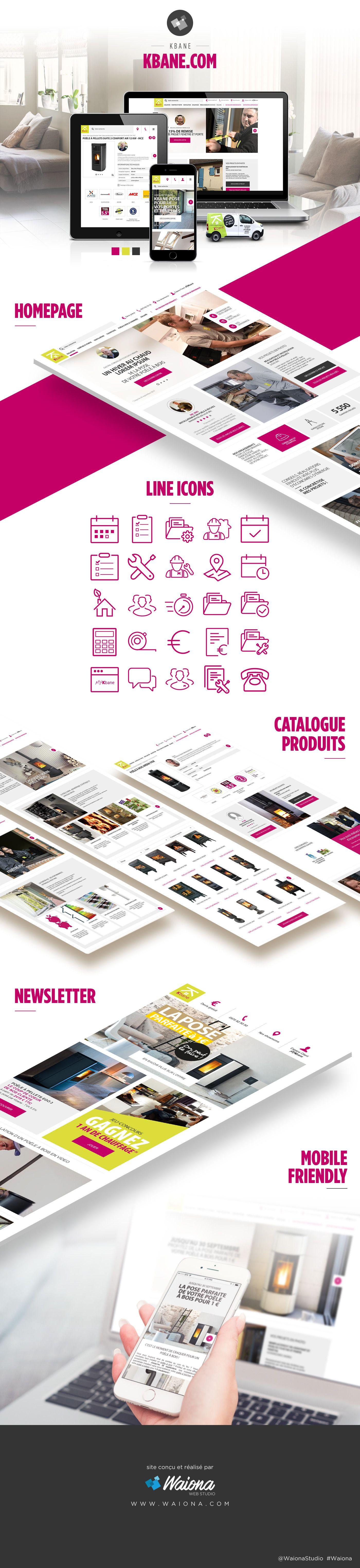 Kbane Com Avec Images Agence De Communication Creation Site Internet Produits