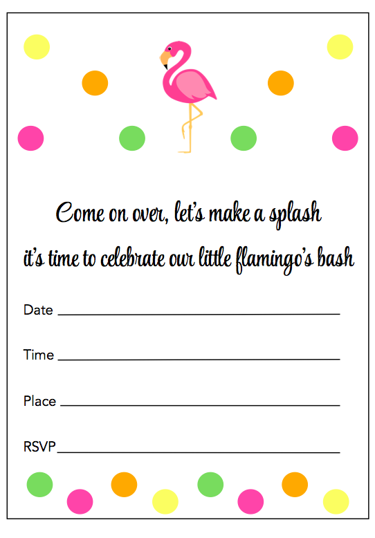 printable part invitations