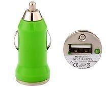 12 V to USB 2.0 Car Adapter (Green) $3.25