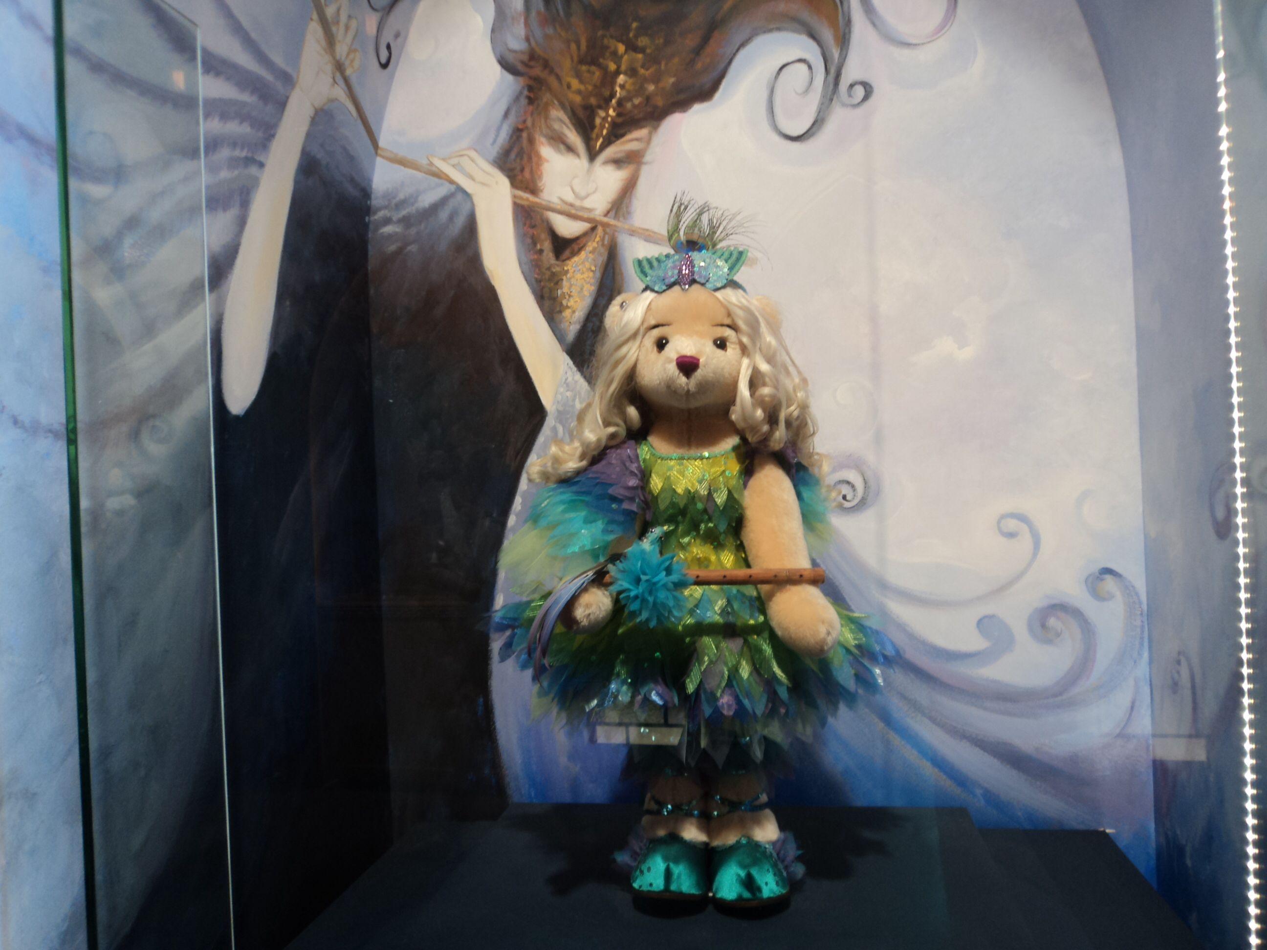 【泰迪熊博物馆】嘿,泰迪熊仙女