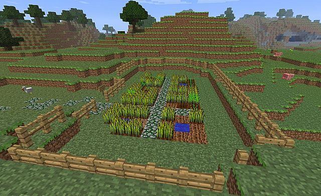 Erstaunlich Einfach Minecraft Garten Garten Gartenplanung