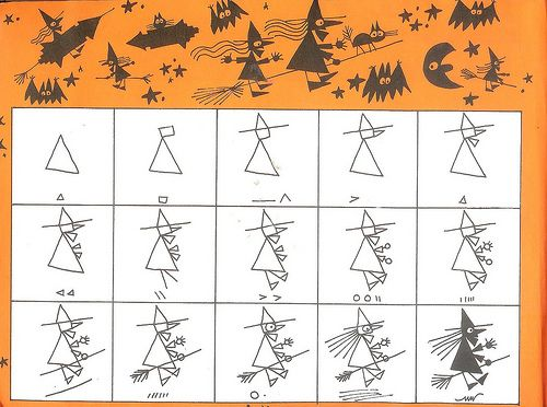 Ed Emberley Halloween Drawing Book