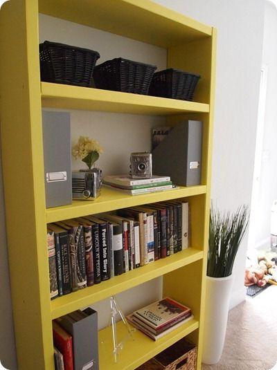 Do It Yourself Bookshelf Ideas: My Ikea Lack Inspired Bookshelf