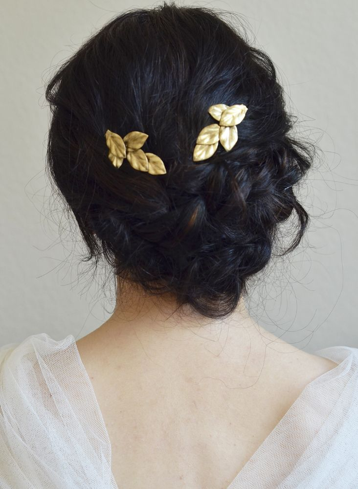 Accessoire cheveux chignon bas - Accessoire chignon facile ...