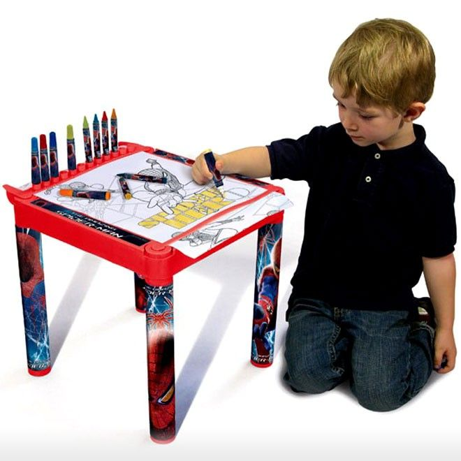 Simba Toys > 3y-8y > Spiderman Coloring Table | VIDEO ...