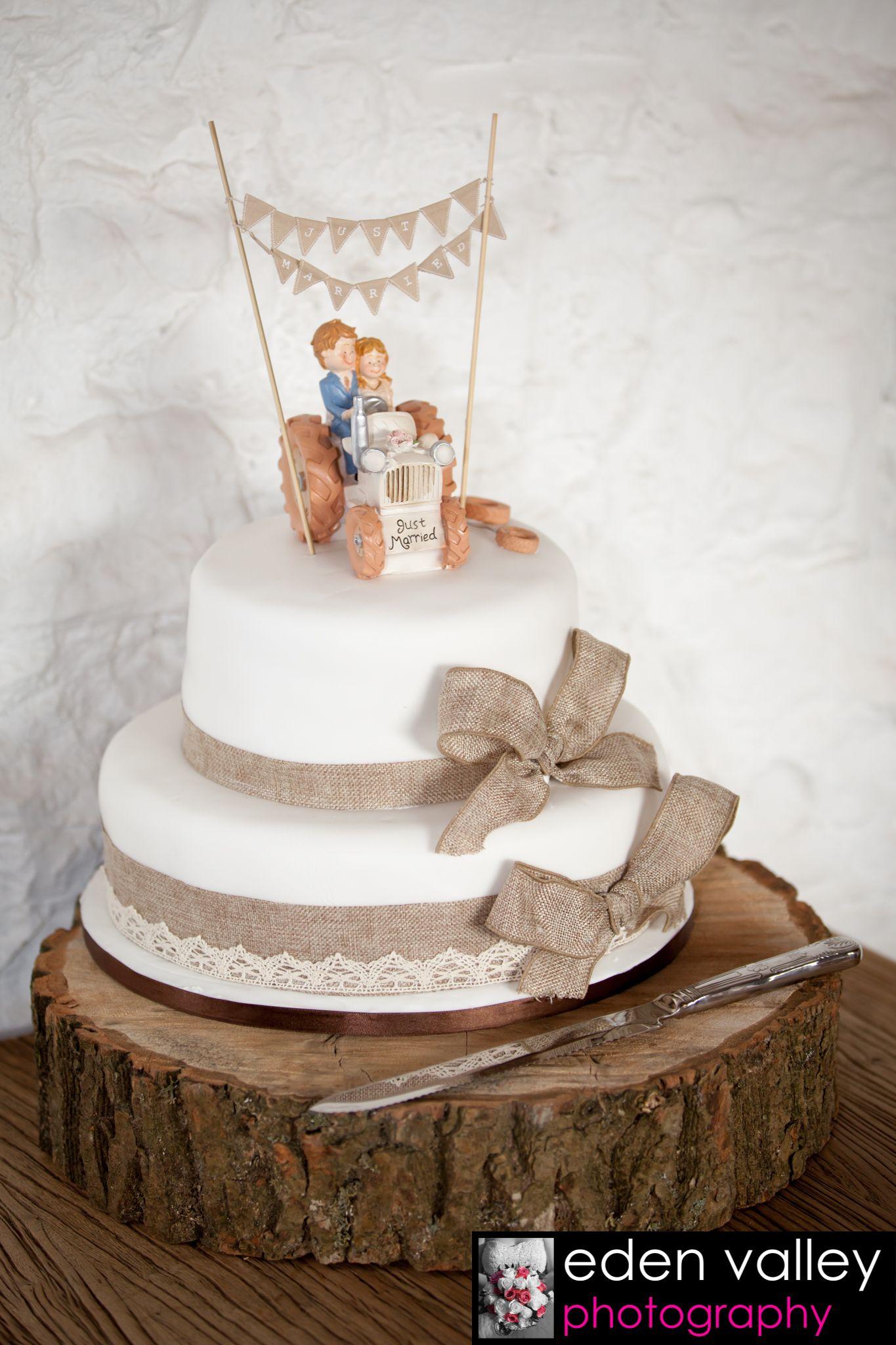 Wedding Cake Ideas Shabby Chic Rustic Wedding Farmer