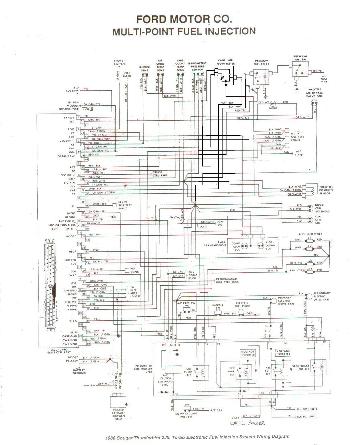 1999 Cougar Fuel Pump Wiring Diagram