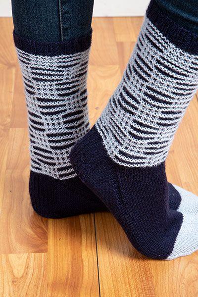 Hematite Socks | Socks, Sock knitting patterns, Argyle socks