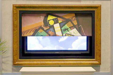 Motorized Art Television - Hidden TV | IT | Home Cinema | Pinterest ...