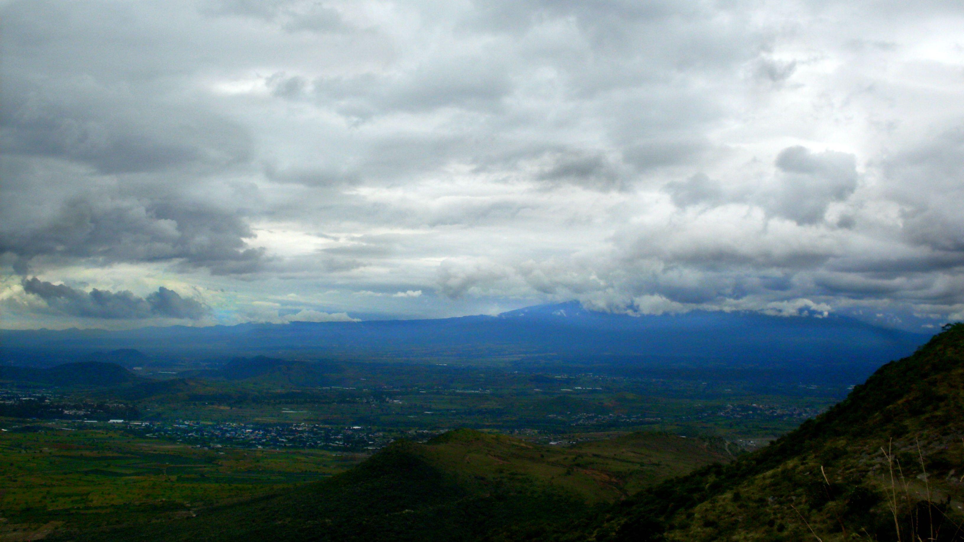 Hermosas vistas en Puebla