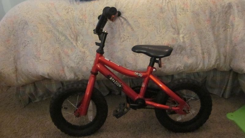b79d8a7d7af Raleigh toddler bike in GrowingPains' Garage Sale in Ada , MI for $50.00.  Awesome bike! Wide tires with great tread.