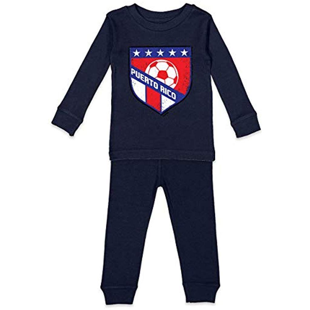 Boys Girls Kids /& Toddler Puerto Rico-1 Long Sleeve T-Shirt 100/% Cotton