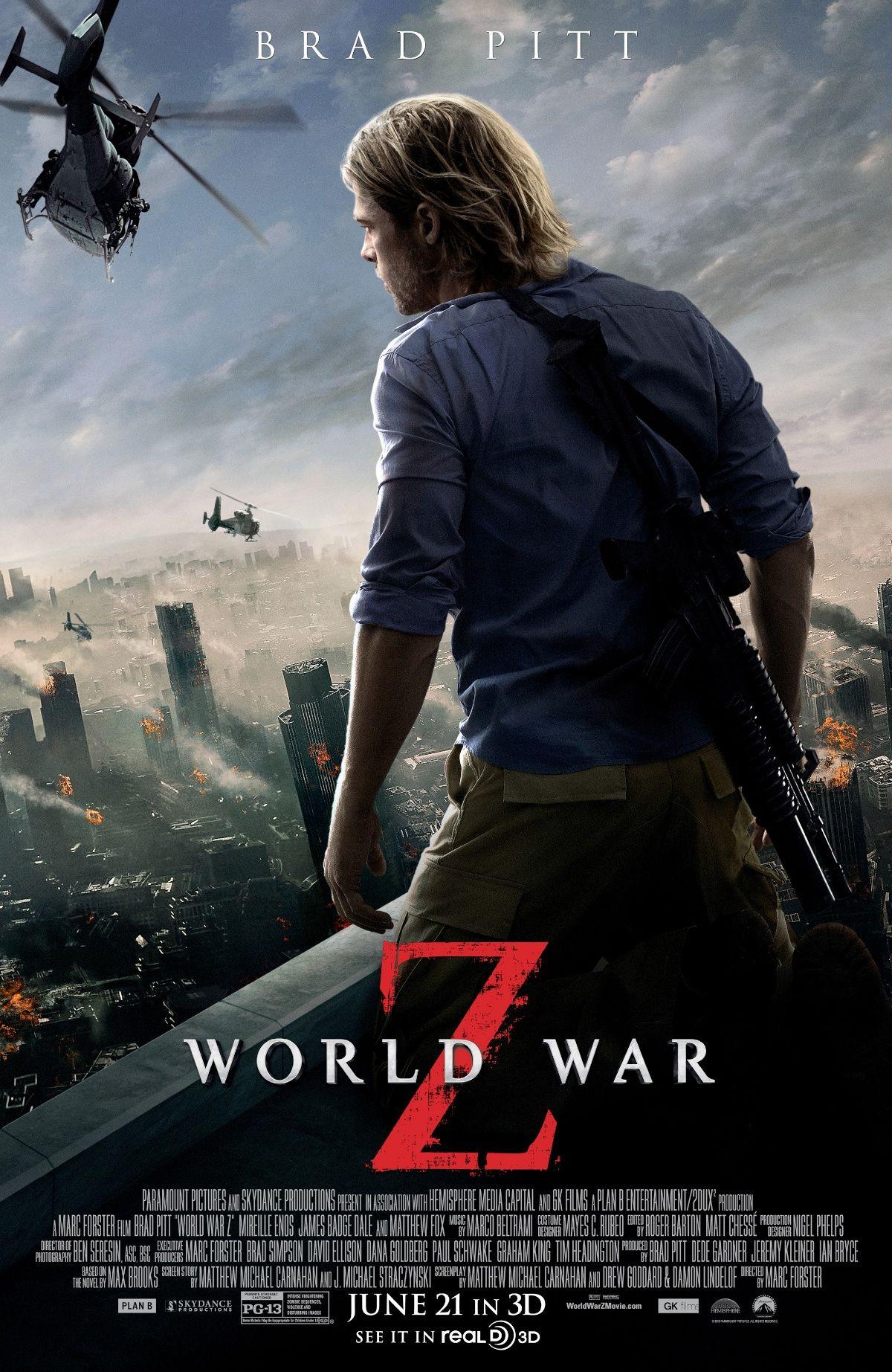 World War Z Z Movie Film D Action Films Complets Gratuits