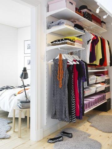 un dressing sans portes c 39 est tendance closet closet. Black Bedroom Furniture Sets. Home Design Ideas