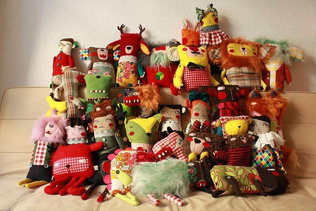 me enternecen los muñecos de ninón....maravillosos