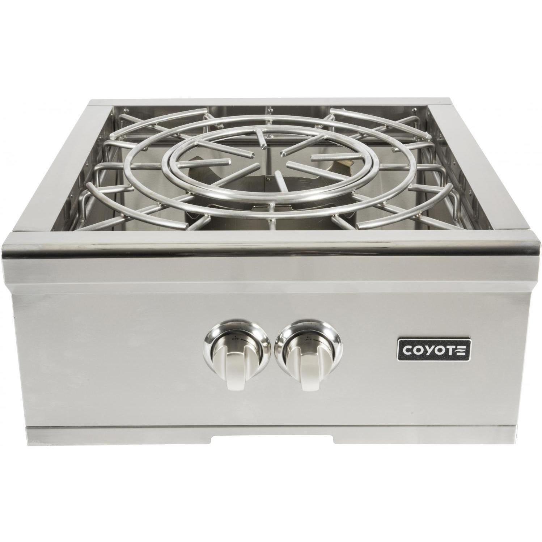 Coyote Built In Propane Gas Power Burner C1pblp With Images Outdoor Kitchen Outdoor Kitchen Appliances Outdoor Kitchen Design