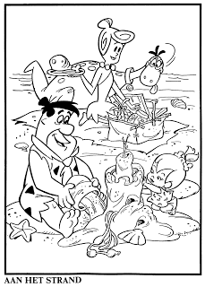 Hanna Barbera World: Os Flintstones - Coloring Book | Coloring Pages ...