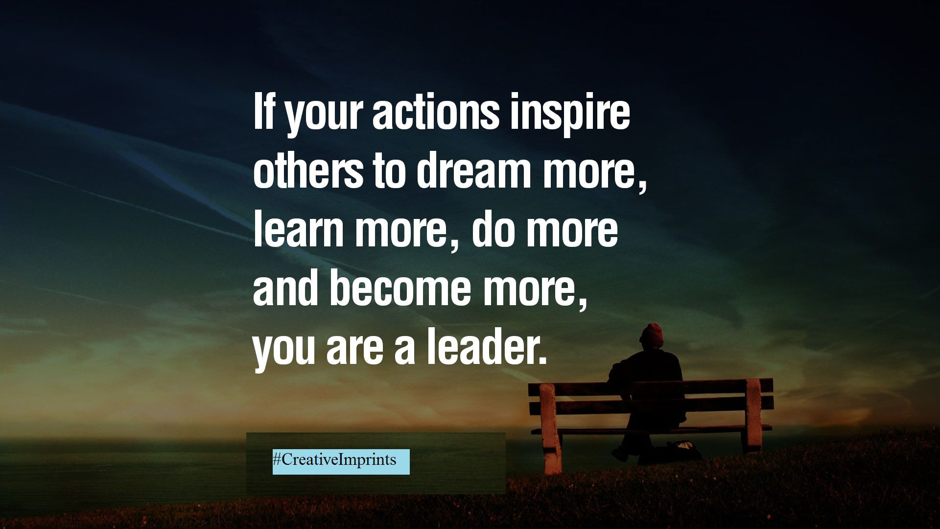Being a #leader is more than achievements, It's more about what you #inspire others for #success