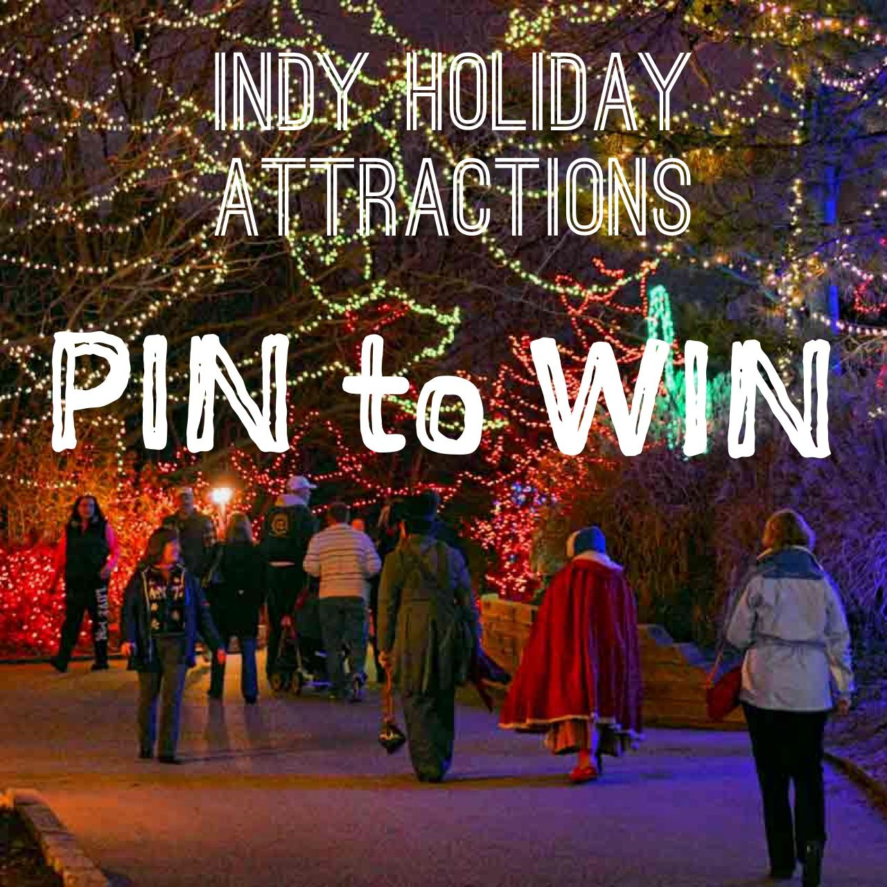Indy Holiday Attractions Repin Our Guide To Indy Holiday Attractions By Thursday December 11 To Enter To Win Four Tick Indianapolis Holiday Indianapolis Zoo