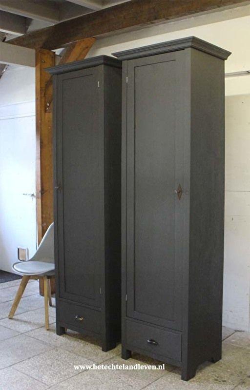 Smalle Hoge Badkamerkast.Maatwerk Kast Smalle Hoge Kasten Prijs Set Van 2 M123 Bedroom