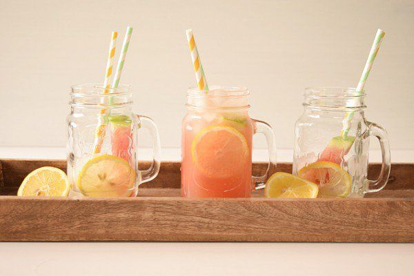 DIY Zitronen-Wassermelonen Limonade - Handmade Kultur
