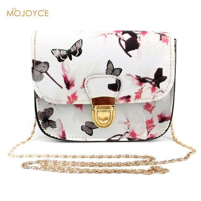 783369f12d32d0 Floral Print Women Leather Handbags Fashion Messenger Bags Small Shell  Package Women Shoulder Bag Women Pouch New Brands
