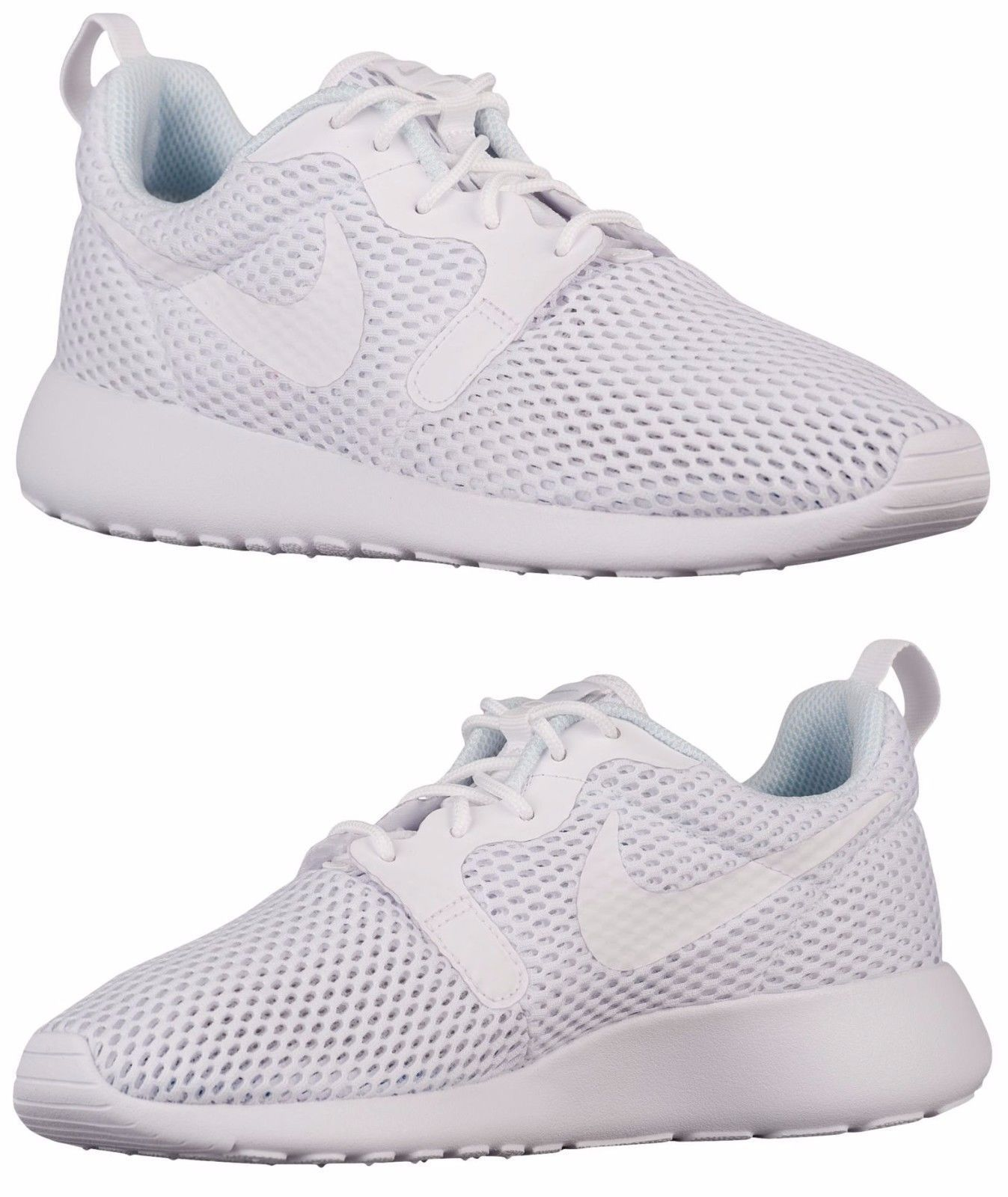 quality design 79d50 a0ab7 Nike Roshe One Hyper Casual Women S M Mesh White - Pure Platinum Authentic