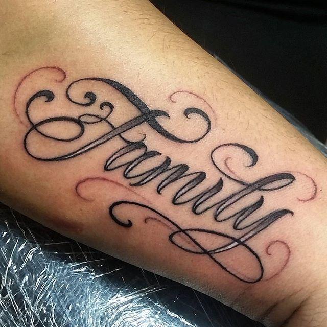 Tattoo His Name Quotes: Letras #cursive #script #letters #artnink #tattoo #AI @art