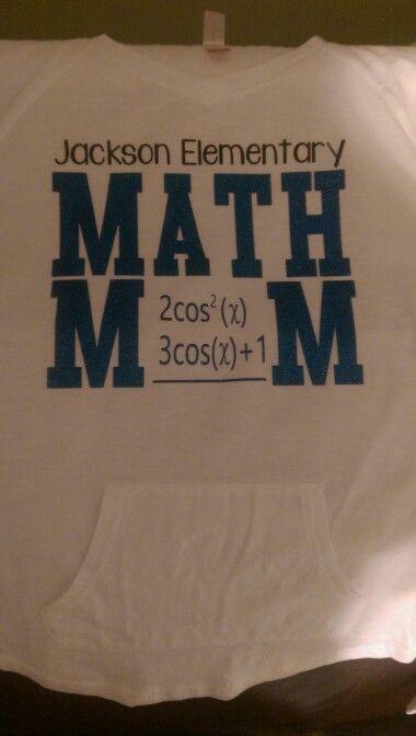 Math Mom Shirt