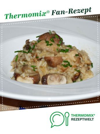 Photo of Einfaches Pilz-Risotto (vergan)