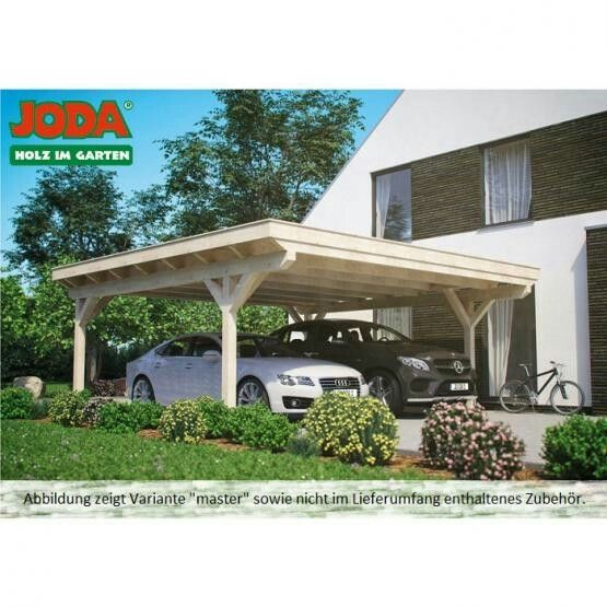Joda Doppel Carport Design Carport Outdoor Dekorationen Carport Holz Im Garten