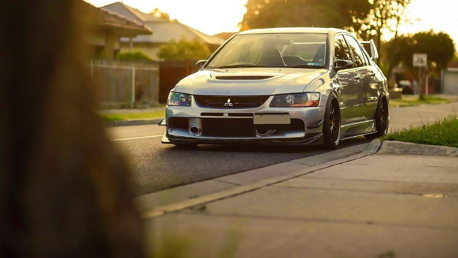 Mitsubishi Lancer Evolution Hd Wallpaper Download
