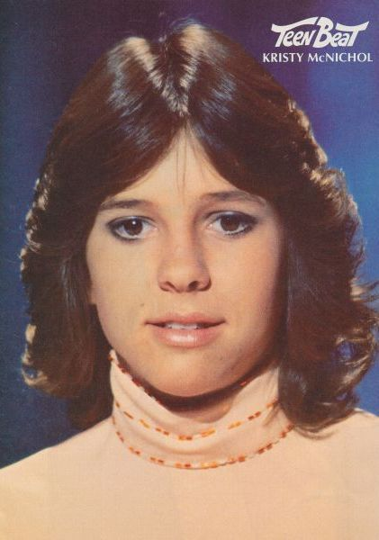 70's feathered haircuts. No one could rock it like Kristy ...