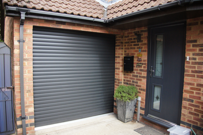 Roller Garage Door Graphite Ral 7024 Garage Doors In