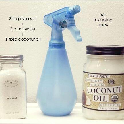 Hair texturizing spray