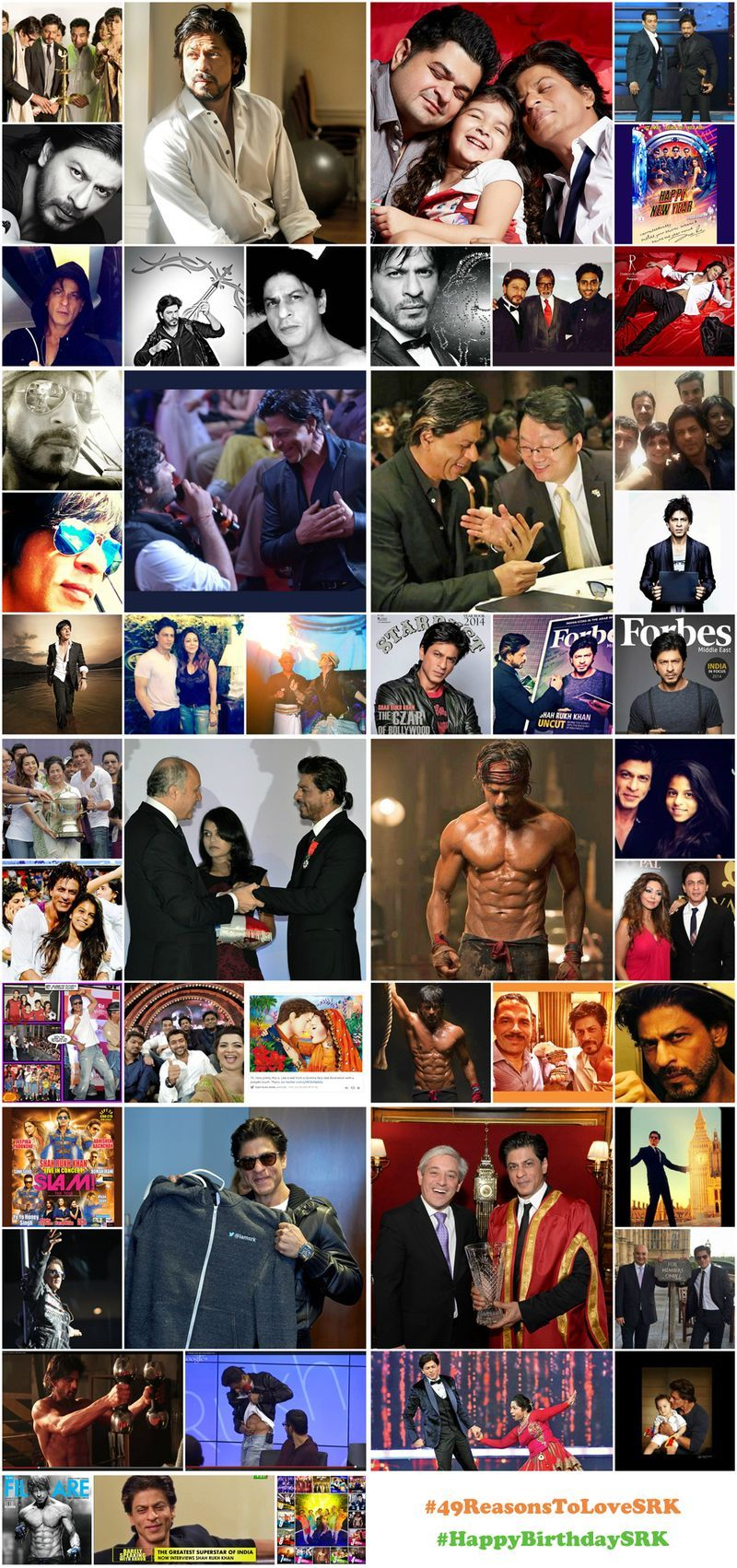 Happy Birthday, Shah Rukh Khan! 49 Reasons to Love SRK