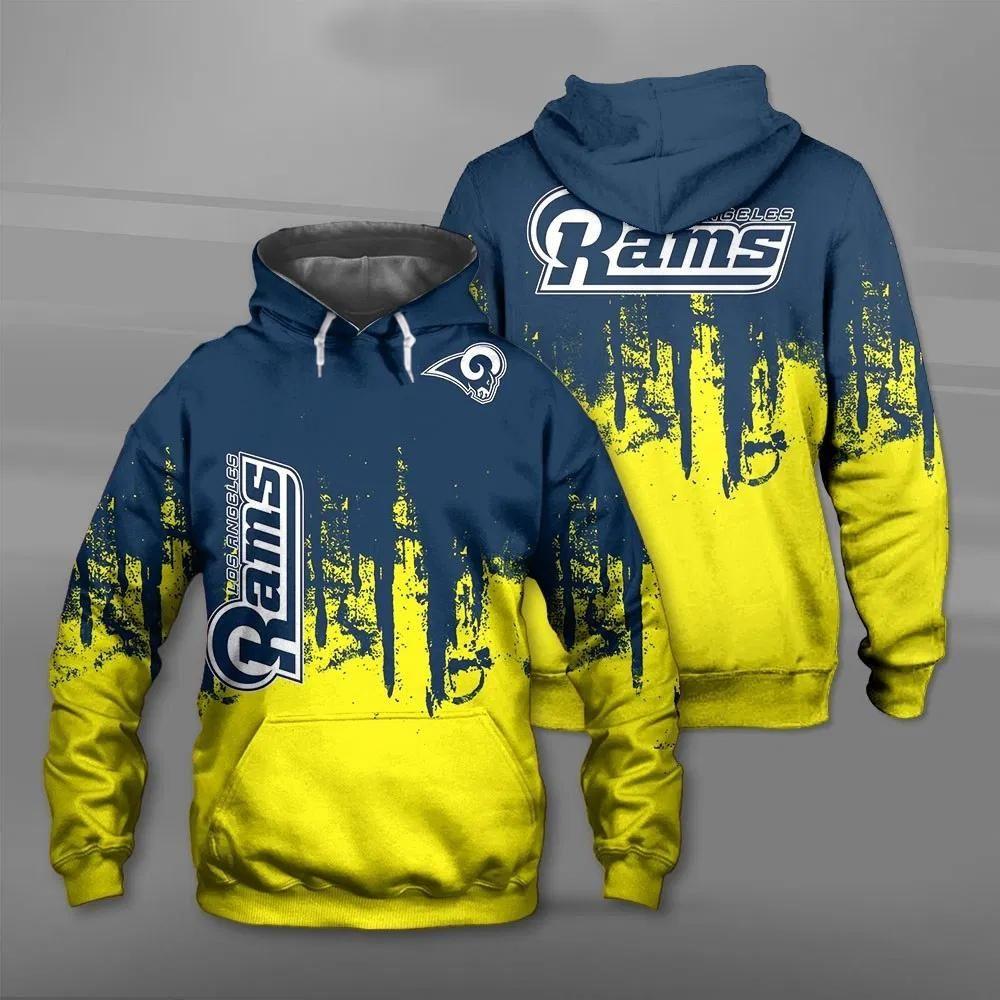 Los Angeles Rams Hoodie 3d Graffiti Football Sweatshirt For Fans Mike S Sport Fan Futbol Americano Americana Futbol