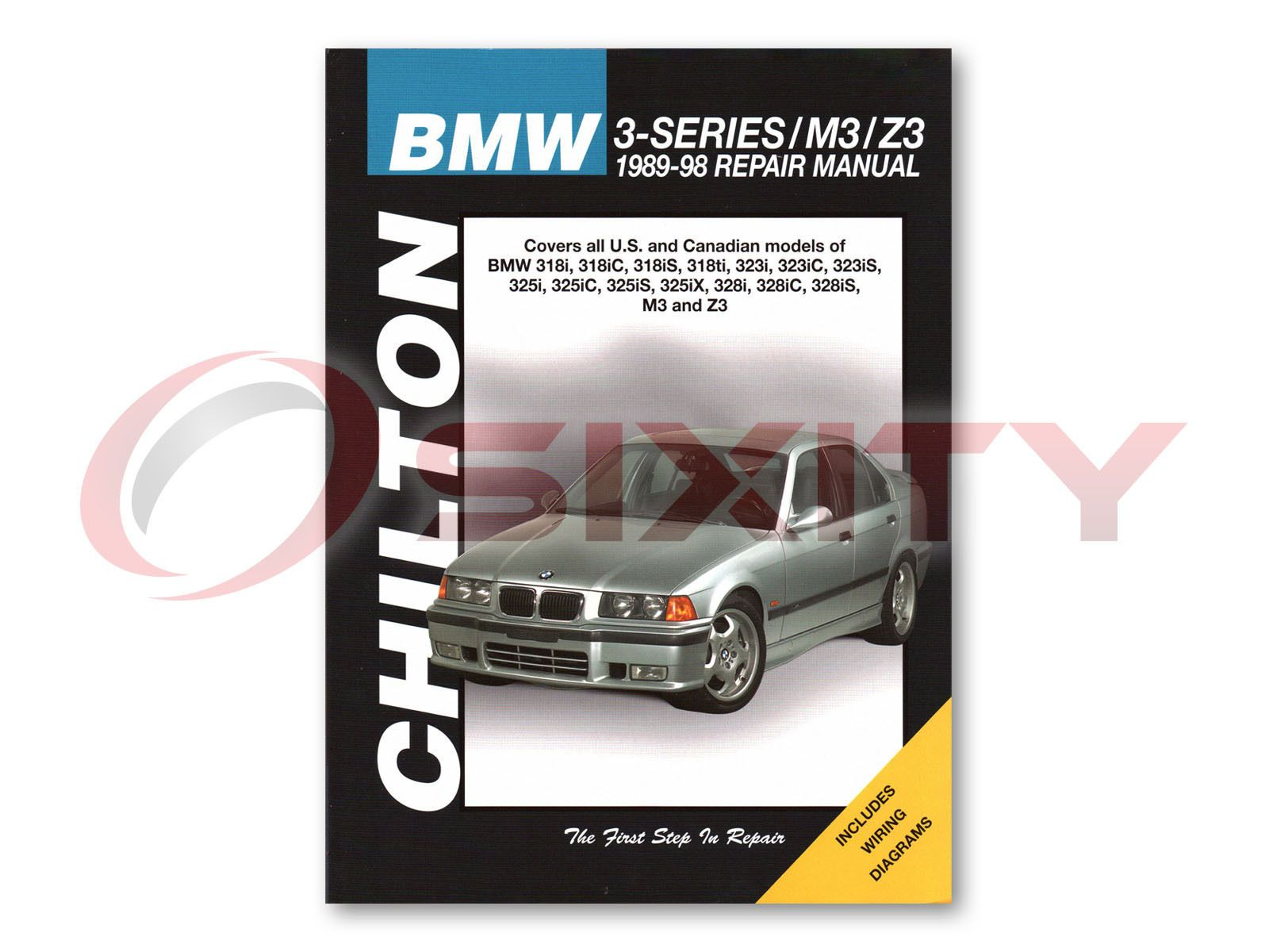 ManualsPRO - BMW Z3 Chilton Repair Manual Roadster Shop Service Garage  Bookrm https://