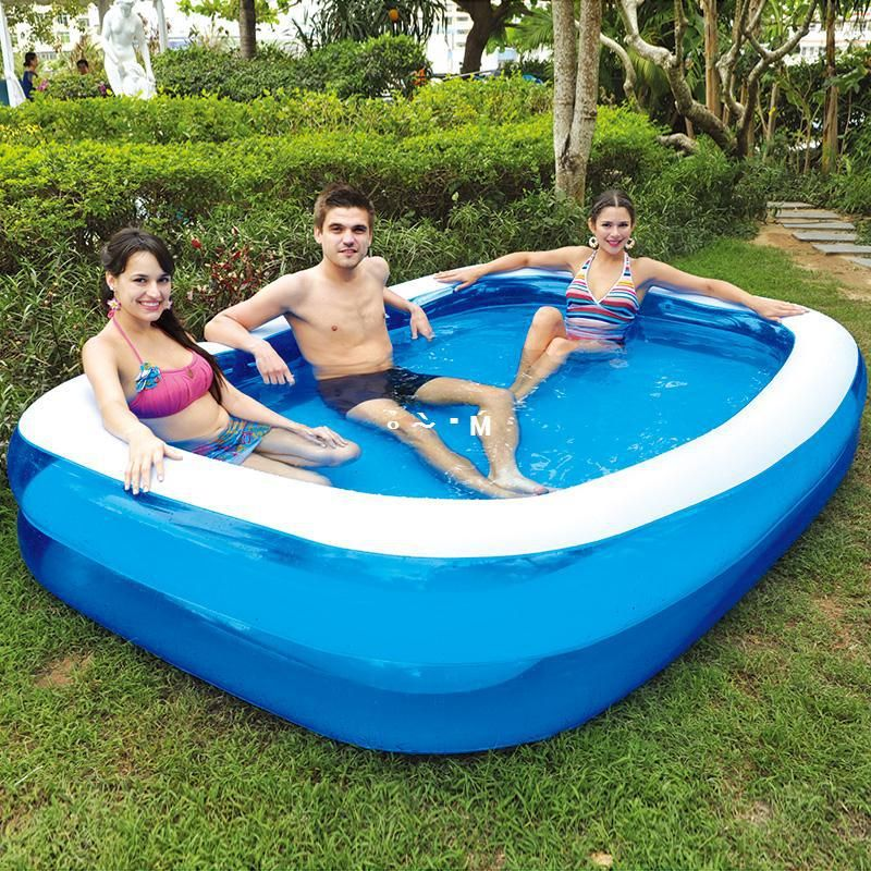 Jilong Large Inflatable Swimming Pool for Family