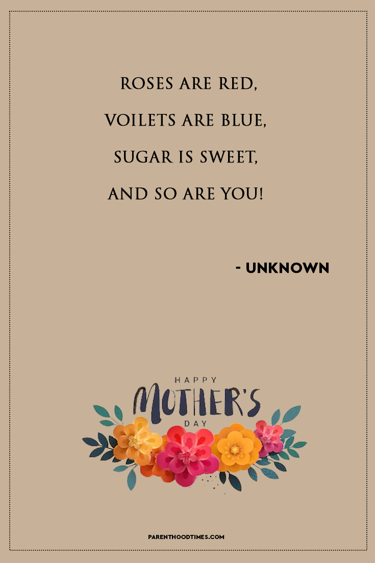 20 Happy Mother's Day Quotes For Mother's Day 2020