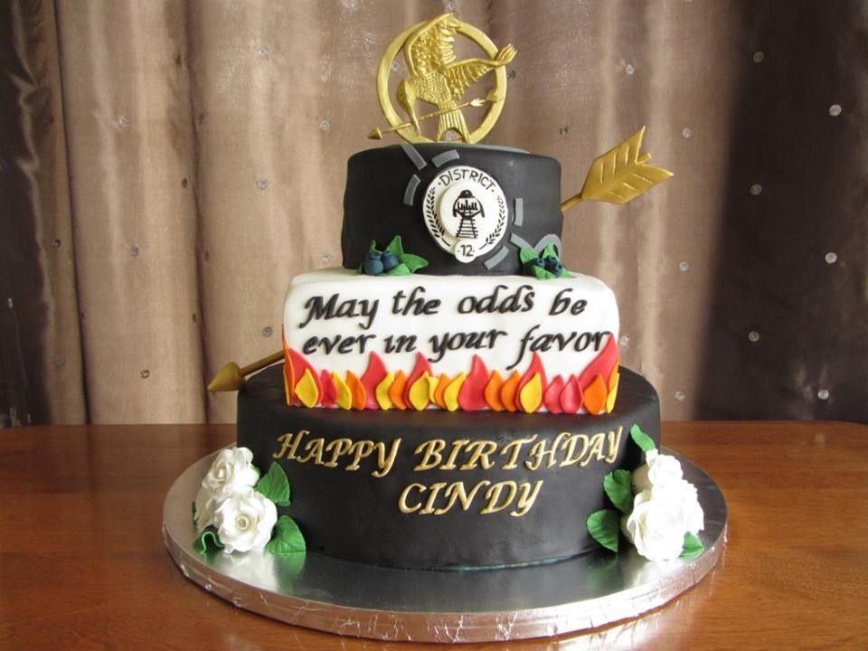 The Hunger Games Cake For More Httpsfacebook