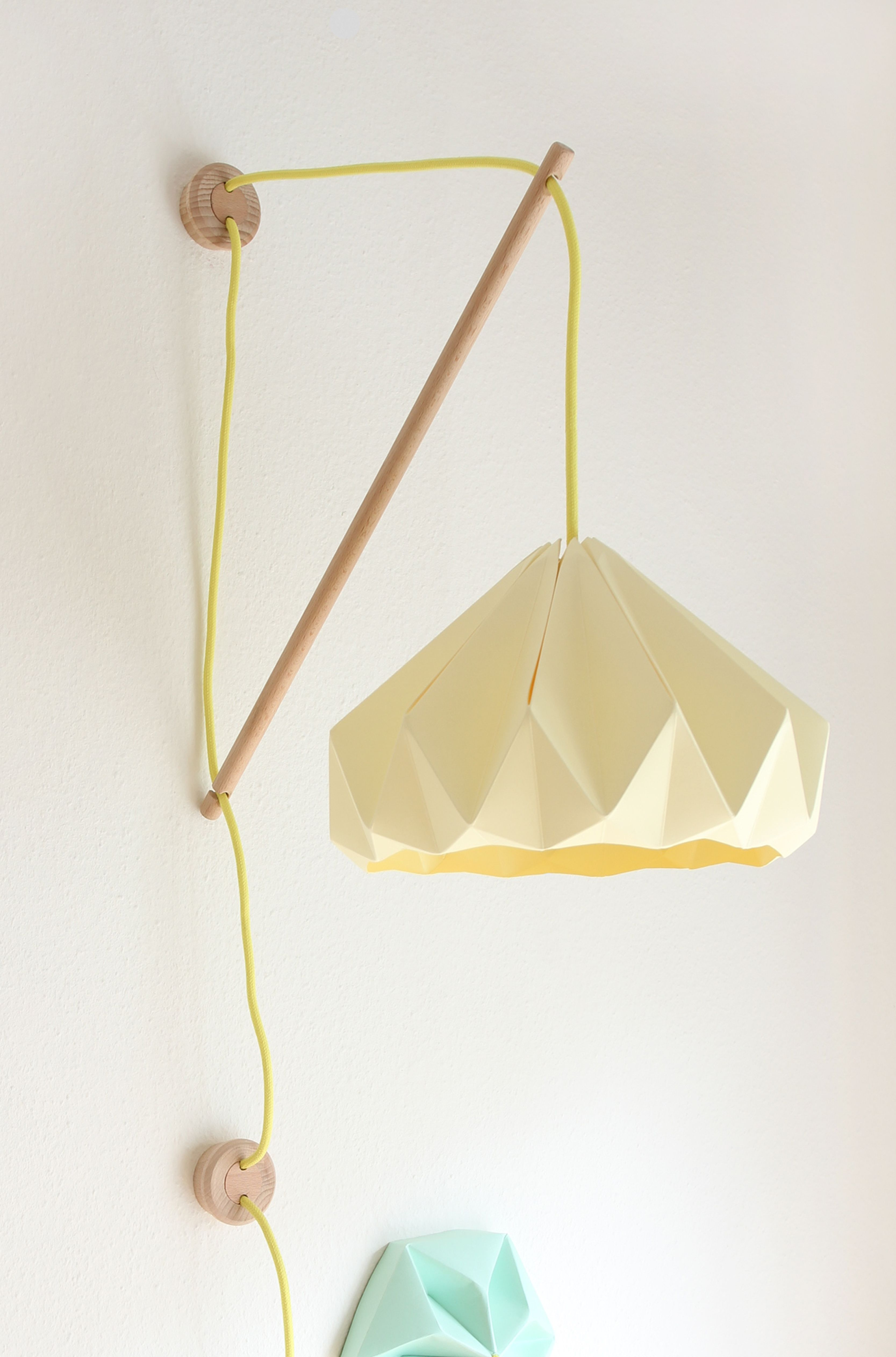 Klimoppe with canary yellow chestnut studio snowpuppe lighting