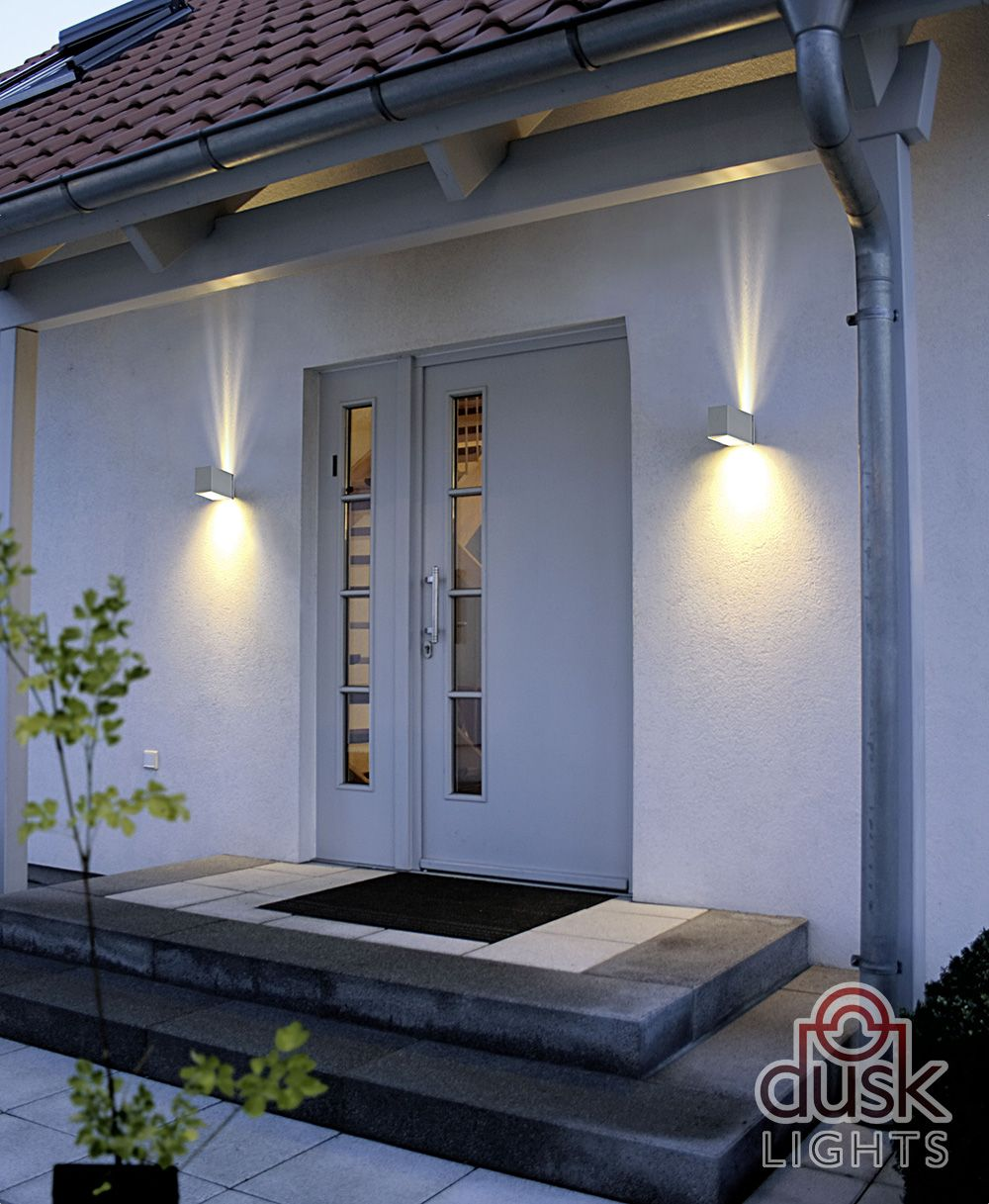 Modern Wall Light Ideas: Eglo Tabo 1 Exterior Up And Down Wall Light