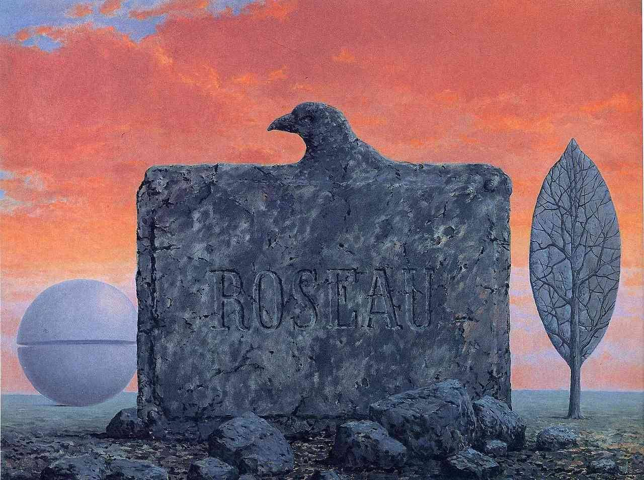 The Fountain Of Youth 1958 Rene Magritte Surreal